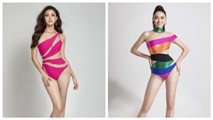 Lương Thùy Linh khoe khéo đôi chân dài 1m22 cùng vòng eo con kiến với bikini phá cách