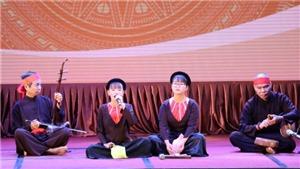 Khai mạc liên hoan hát Xẩm khu vực phía Bắc - Ninh Bình 2019