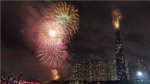 Thành phố Hồ Chí Minh dịp Tết dương lịch 2020 bắn pháo hoa tại 3 điểm