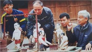 Khám phá 'kho báu' di sản phi vật thể Hà Nội (kỳ 3): Rối nước làng Ra - Làng rối 'chân truyền' của một thiền sư