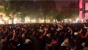 Cùng xem những giây phút đầu tiên trong năm 2020 của Hà Nội