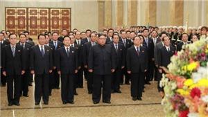 Nhà lãnh đạo Triều Tiên Kim Jong-un viếng Cung Thái Dương nhân dịp Năm mới