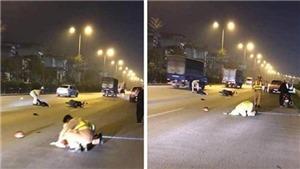 Hà Nội: Xác định danh tính đối tượng tông xe làm chiến sỹ Cảnh sát giao thông bị thương