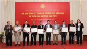 73 tác phẩm được trao Giải thưởng Văn học nghệ thuật năm 2019