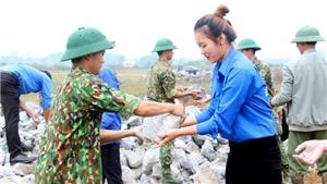 Đảm bảo thực hiện tốt nhiệm vụ thi công công trình tường rào bảo vệ Sân bay Miếu Môn