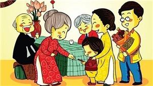 Tục mừng tuổi ở Việt Nam và một số nước trên thế giới