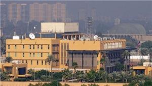 Iraq: 3 rocket rơi gần Đại sứ quán Mỹ tại Baghdad