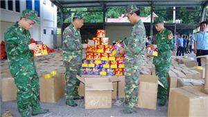 Pháo lậu đang tràn vào các cửa khẩu ở Lạng Sơn như thế nào?