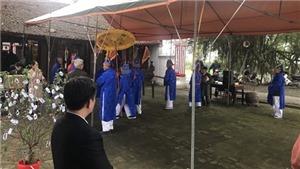 Hội Phết Hiền Quan 2020 chỉ thực hiện nghi lễ dâng hương trong đền
