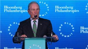 Tỷ phú Bloomberg và cựu phó Tổng thống Joe Biden đều mang ông Obama ra tranh cử