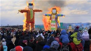 Tưng bừng Lễ hội tiễn mùa đông ở Nga