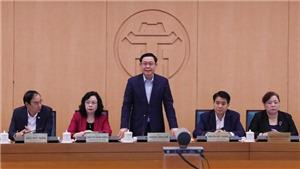 Bí thư Thành ủy Hà Nội Vương Đình Huệ: Cách ly là giải pháp hàng đầu để phòng dịch COVID-19