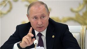 Tổng thống Putin khẳng định ưu thế của quân đội Nga