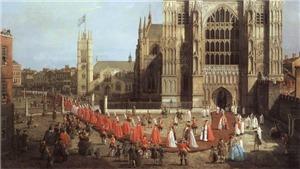 Anh trưng bày bức tranh hiệp sĩ hơn 200 năm trước