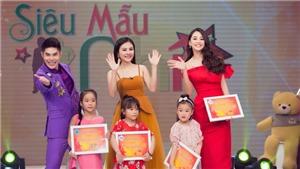 Hoa hậu Tiểu Vy thị phạm cho các siêu mẫu nhí