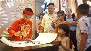 Thư pháp gia nhí Thiên Phú: Chữ đẹp và tương lai!
