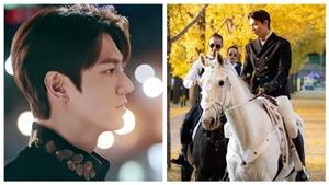 Lee Min Ho 'đốn tim' khán giả với tạo hình 'một vị vua hoàn hảo'