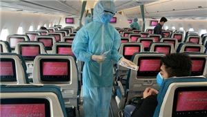 Bộ Y tế thông báo về hai chuyến bay có hành khách mắc COVID-19