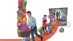 Dịch vụ 'đi chợ thuê' nở rộ trong mùa dịch COVID-19