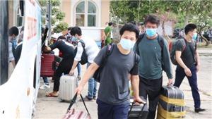 Gần 2.000 trường hợp hoàn thành cách ly tập trung tại Thành phố Hồ Chí Minh trở về nhà