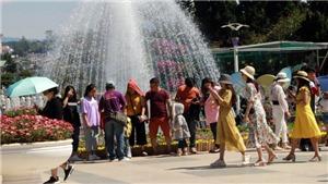 Lâm Đồng: Du khách đổ tới Đà Lạt khá đông trong kỳ nghỉ 30/4-1/5