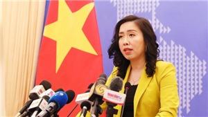 Việt Nam đề nghị phía Trung Quốc không làm phức tạp thêm tình hình Biển Đông