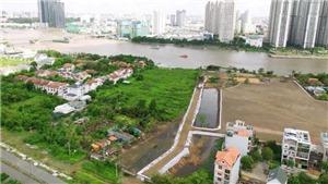 Đấu giá hơn 5.000m2 đất trong Khu đô thị mới Thủ Thiêm TP HCM