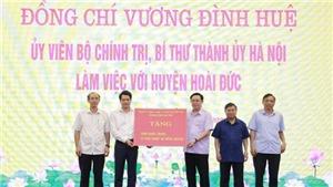 Hà Nội tập trung nguồn lực đưa huyện Hoài Đức thành quận