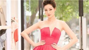 Hoa hậu Khánh Vân khoe nhan sắc rực rỡ trong sự kiện ở Hà Nội