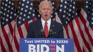 Ông Joe Biden chính thức trở thành ứng cử viên Tổng thống Mỹ của đảng Dân chủ