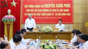 Thủ tướng Nguyễn Xuân Phúc: Bắc Giang cần chuyển mô hình tăng trưởng từ chiều rộng sang chiều sâu
