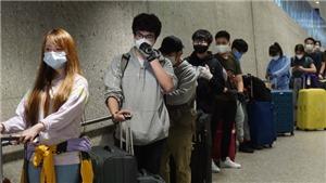 Chuyến bay từ San Francisco đưa hơn 340 công dân Việt Nam từ Mỹ về nước