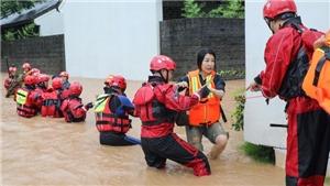 Mưa lớn và lũ lụt hoành hành tại miền Nam Trung Quốc
