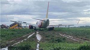 Đình chỉ phi hành đoàn vụ máy bay trượt khỏi đường băng Tân Sơn Nhất