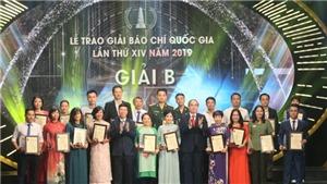 Giải Báo chí Quốc gia lần thứ XIV năm 2019: Ghi nhận công sức và tâm huyết của đội ngũ người làm báo