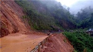 Lai Châu: Mưa lớn gây sạt lở và ngập úng nhiều tuyến đường
