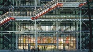 Trung tâm Pompidou Paris mở cửa sau dịch Covid-19: Thánh đường nghệ thuật gây tranh cãi nhất nước Pháp
