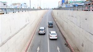 Thông xe toàn dự án hầm chui nút giao thông An Sương TP HCM