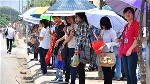 Nắng nóng tiếp tục gay gắt, học sinh tham dự Kỳ thi tuyển sinh lớp 10 cần chủ động bảo vệ sức khỏe
