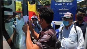 Hà Nội: Phòng chống dịch COVID-19 trên phương tiện vận tải hành khách