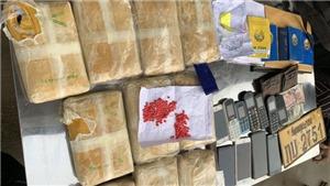 Triệt phá thành công đường dây vận chuyển số lượng lớn ma túy vào Việt Nam