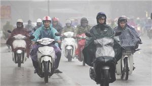 Bắc Bộ, Thanh Hoá và Nghệ An cuối tuần mưa dông diện rộng