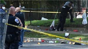 Cảnh sát Mỹ nổ súng vào kẻ có vũ trang bên ngoài Nhà Trắng