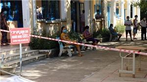 Quảng Nam: Tiếp tục cách ly xã hội tại nhiều địa phương có ca mắc COVID-19