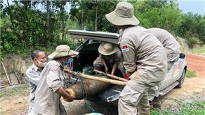 Quảng Trị xử lý an toàn quả bom nặng 227 kg
