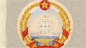 Triển lãm 'Phác thảo mẫu Quốc huy Việt Nam - Họa sĩ Bùi Trang Chước'