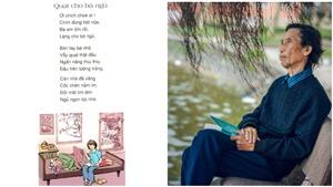 Gặp lại các tác giả được đưa vào sách giáo khoa (kỳ 22): Nhà thơ Thạch Quỳ - 'Quạt cho bà ngủ'