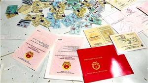 Bộ Công an triệt phá một đường dây sản xuất giấy tờ giả quy mô lớn
