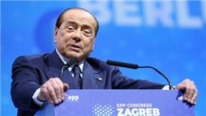Dịch COVID-19: Cựu Thủ tướng Italy Silvio Berlusconi có kết quả dương tính