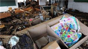 10 năm thảm họa động đất sóng thần tại Nhật Bản: Khoảng lặng trên sân trường tiểu học Okawa